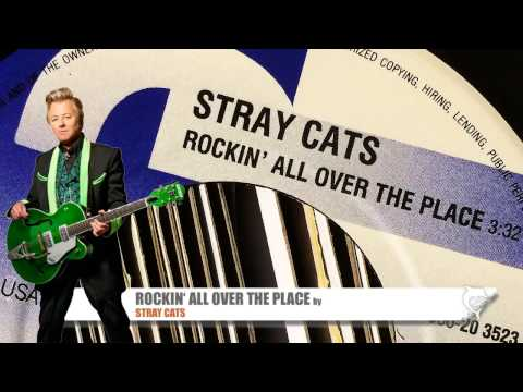 Stray Cats - Rockin' All Over The Place (1989)