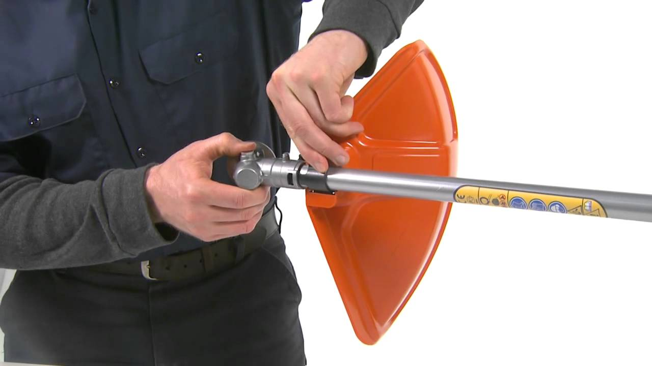 How to Assemble a Husqvarna String Trimmer