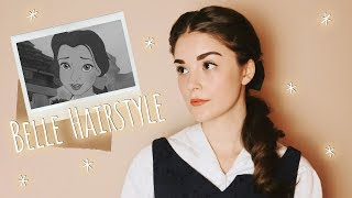 Easy & Vintage Belle Inspired Hairstyle | Hair Tutorial