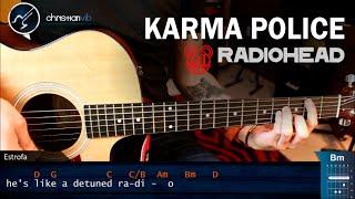 Como tocar Karma Police RADIOHEAD en Guitarra Acustica | Tutorial COMPLETO