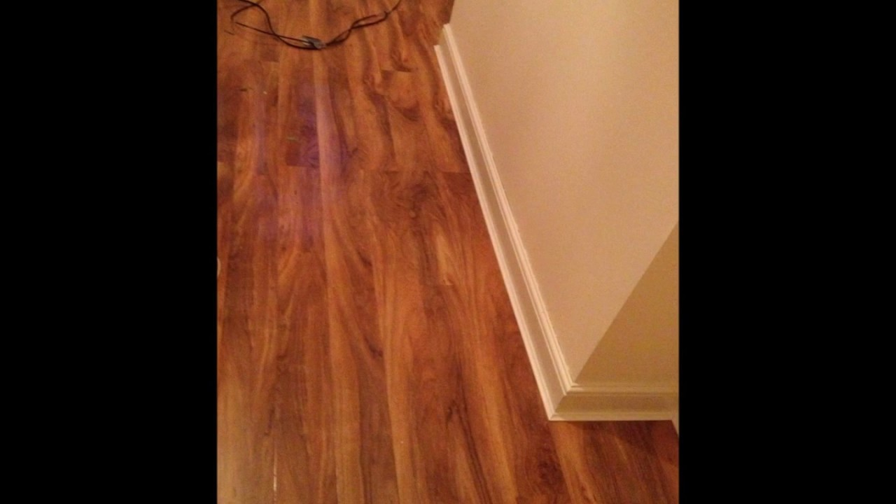Laminate Flooring By Perfection Walnut Gloss Installation