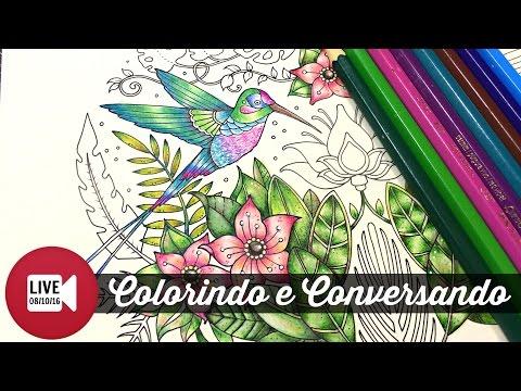 Ao vivo - Selva Mágica - Beija-Flor | Colorindo e Conversando