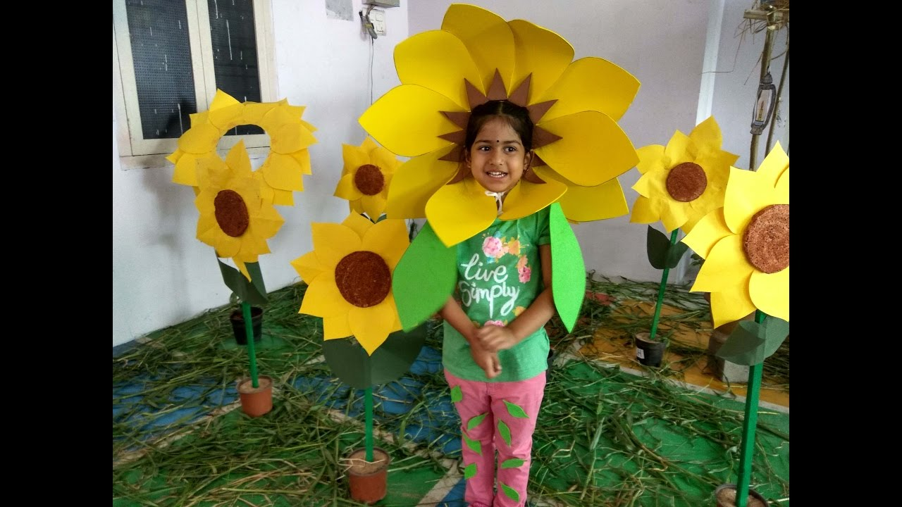 Sunflower Craft Make Your Sunflower Mask Today Youtube