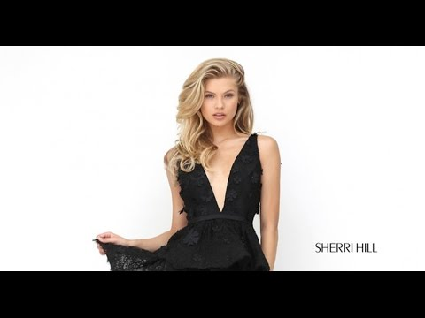 ee3b011f0cc2 Sherri Hill 50789 Prom Dress - YouTube