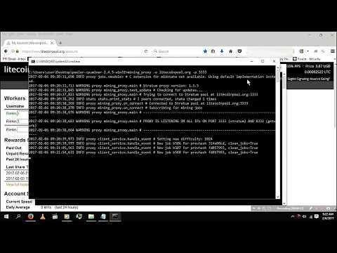 Steps By Steps [ CPU Mining Any Cryptocurrency ] 2017