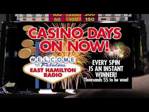 East Hamilton Radio Casino Days Sale September ONLY!