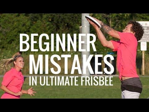 11 Ultimate Frisbee Beginner Mistakes