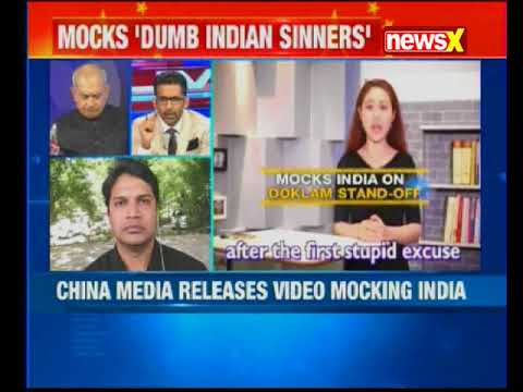 Video mocks India on 2month long Doklam stand off