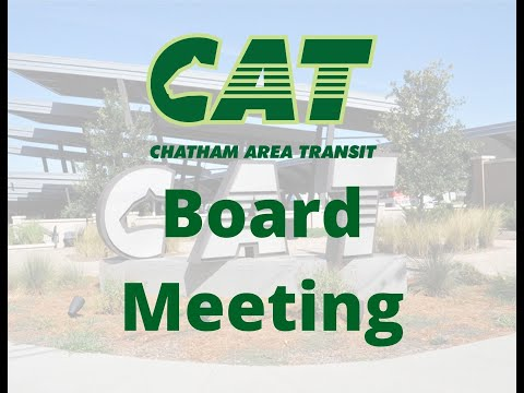 CAT Board of Directors' Meeting