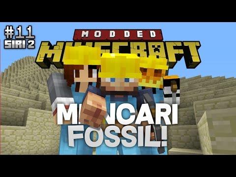 Modded Minecraft Malaysia S2 - E11 - Mencari Fossil!