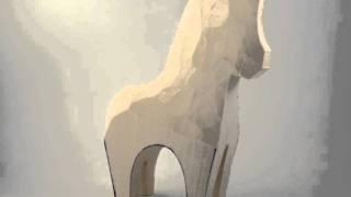 Harley Refsal Dala Horse Carving Process