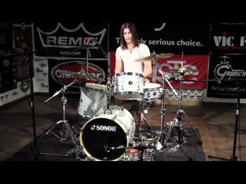 Greenbrier Percussion - Sonor BOP Kit Silver Galaxy Sparkle Drum Demo