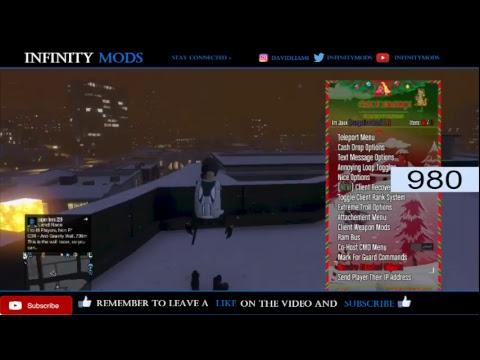 Gta5 Modding With the African Menu (Xbox)