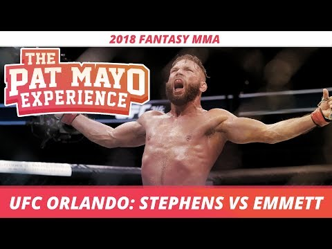 2018 Fantasy MMA: UFC Orlando DraftKings Picks and Fight-By-Fight Preview