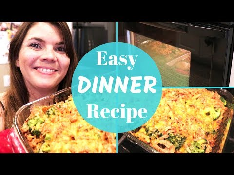 EASY DINNER CASSEROLE // NEW RECIPE // STAY AT HOME MOM