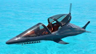 10 Niezwykłych POJAZDÓW podwodnych