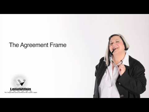 The Agreement Frame in Conversation
