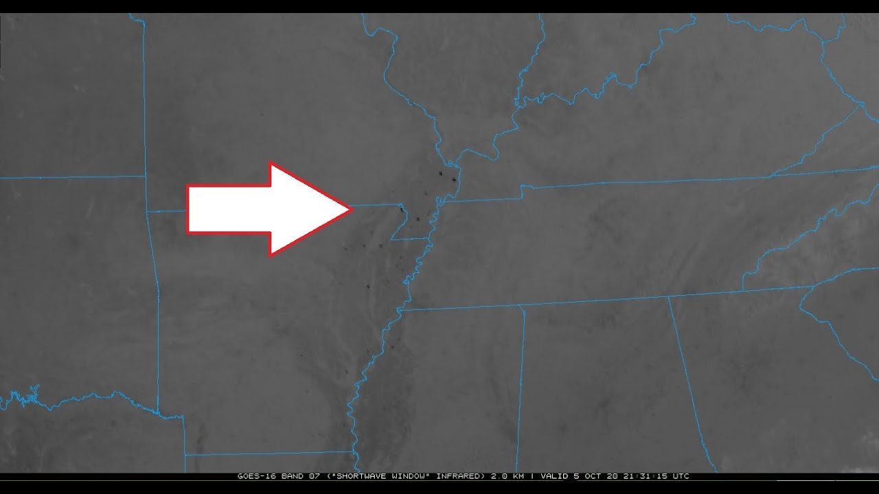 MIRROR: 10/05/2020 -- THOUSANDS OF HOT SPOTS appear across Plate + New Madrid -- Plate shifting? Big