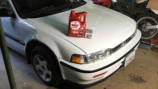 265,000 Mile Oil Change - 1990 Honda Accord