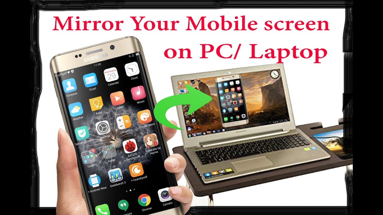 How to Mirror your Android Screen to PC/ Laptop/ Computer/ TV without WiFi