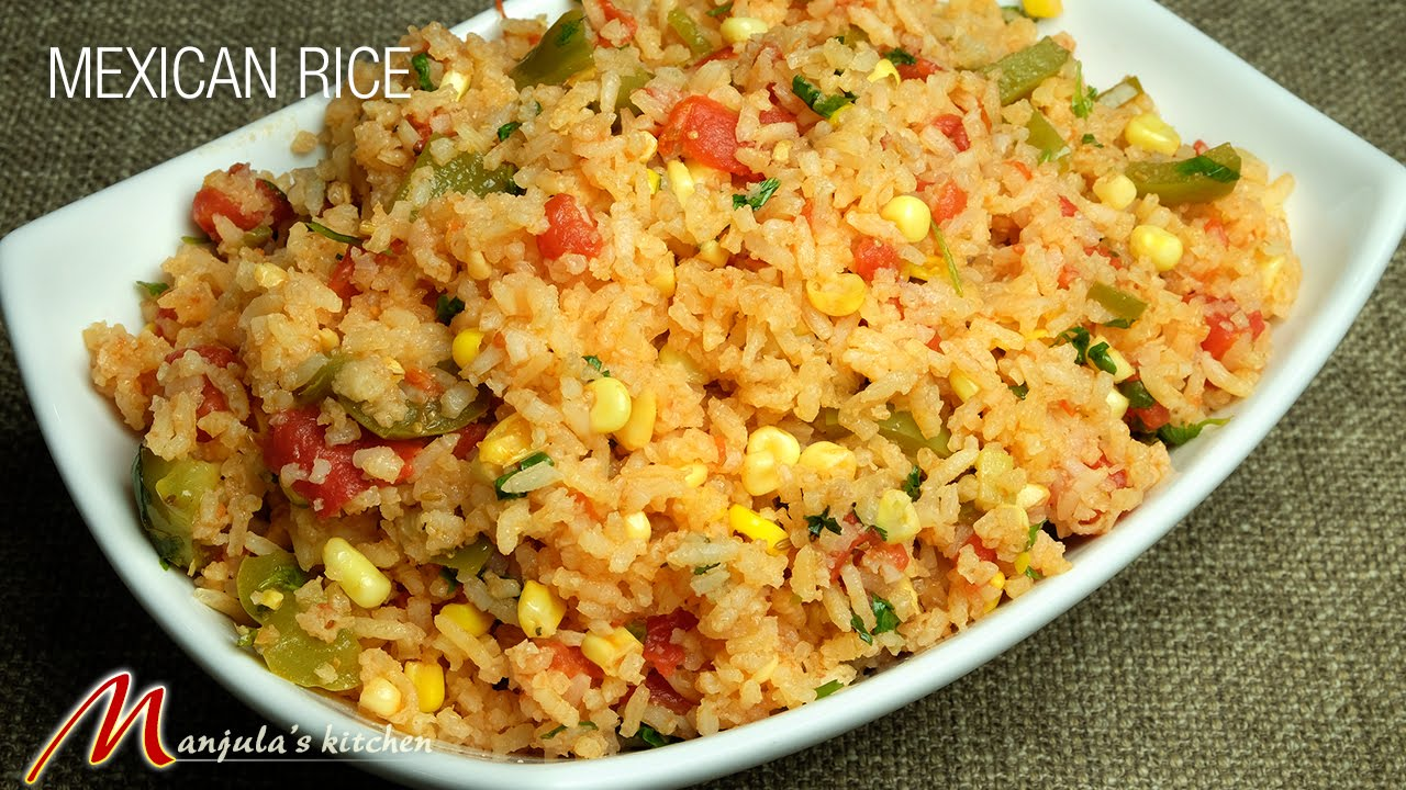 Mexican rice recipe by manjula youtube mexican rice recipe by manjula forumfinder Choice Image