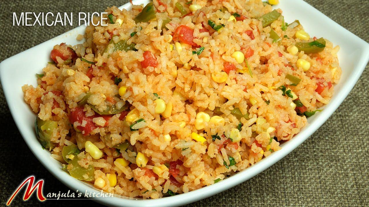 Mexican Rice Manjula S Kitchen