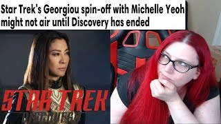 Star Trek Discovery Michelle Yeoh Spin-off CANCELLED!?!?