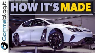 CUPRA e-Racer: This is How an Electric Race Car is Built | HOW IT'S MADE Manufacturing
