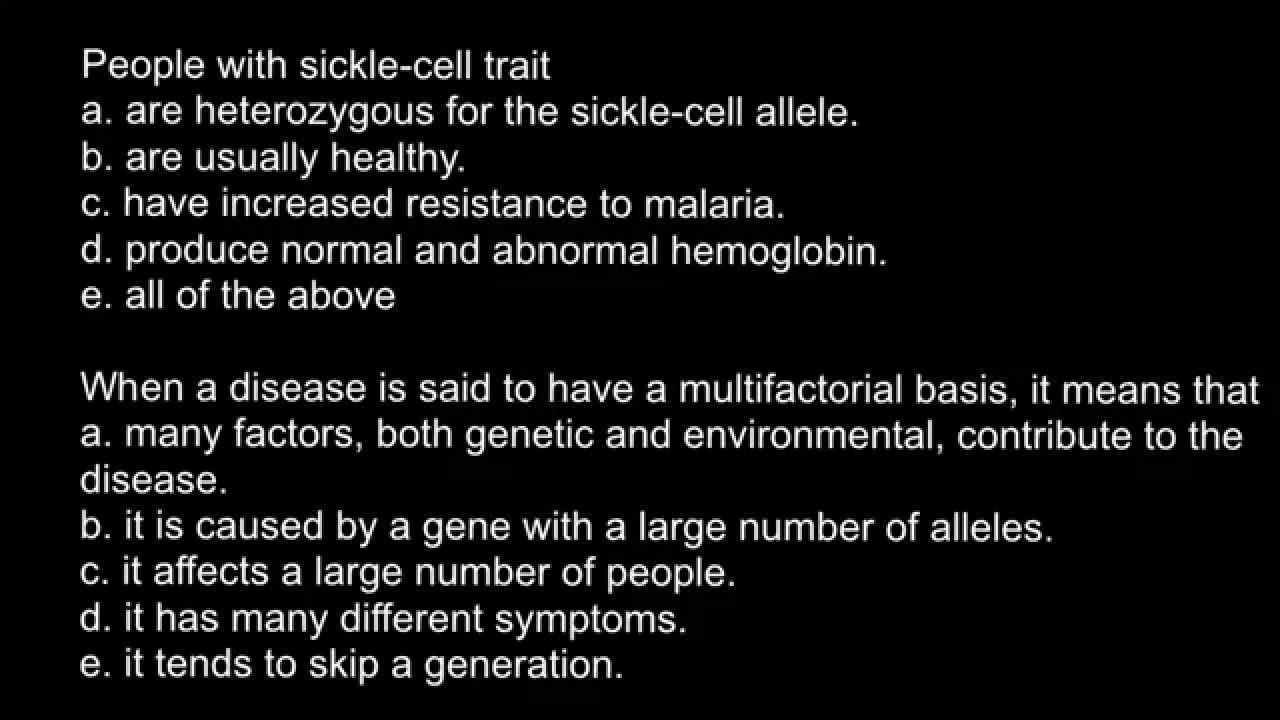Definition of multifactorial genetic disease - YouTube