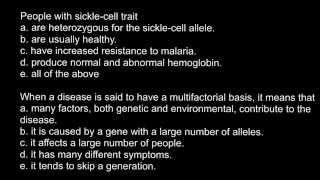 Definition of multifactorial genetic disease
