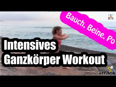 intensives ganzk rper workout bauch beine po fitness bungen f r zuhause abnehmen ohne di t. Black Bedroom Furniture Sets. Home Design Ideas