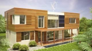Projekt domu jednorodzinnego KOMFORTOWY - Domy Czystej Energii