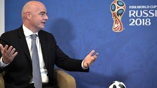 На каждые три матча приходится одна ошибка арбитра — глава ФИФА