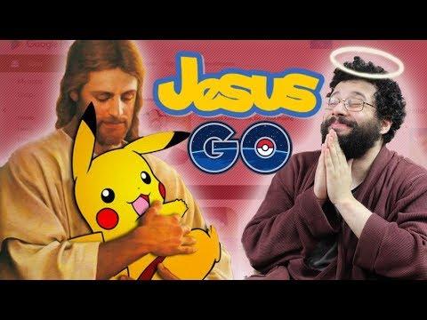 Pokémon Go version JÉSUS - Ermite Moderne (let's play DEHORS !) thumbnail