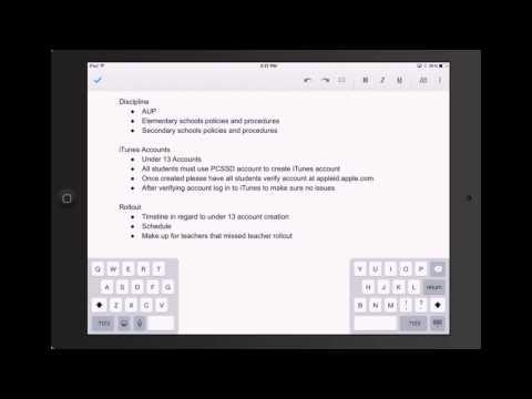 Google Docs On The IPad
