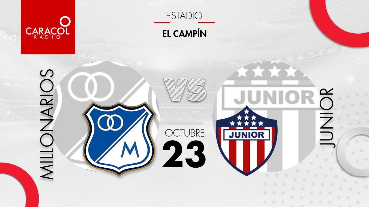 Download EN VIVO   Millonarios vs. Junior - Liga Colombiana por el Fenómeno del Fútbol