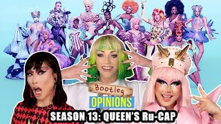 Drag Race Season 13 Ru-Cap with Laganja Estranja & Rock M. Sakura on Bootleg Opinions