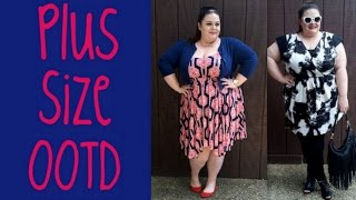 Plus Size OOTD x2: Ft. Tbags Los Angeles and Triste Thumbnail