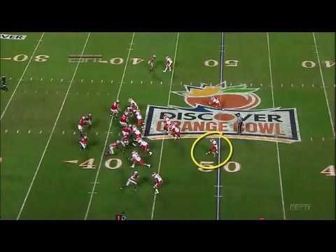 Jeff Heuerman 57-Yard Touchdown Reception vs. Clemson 2013