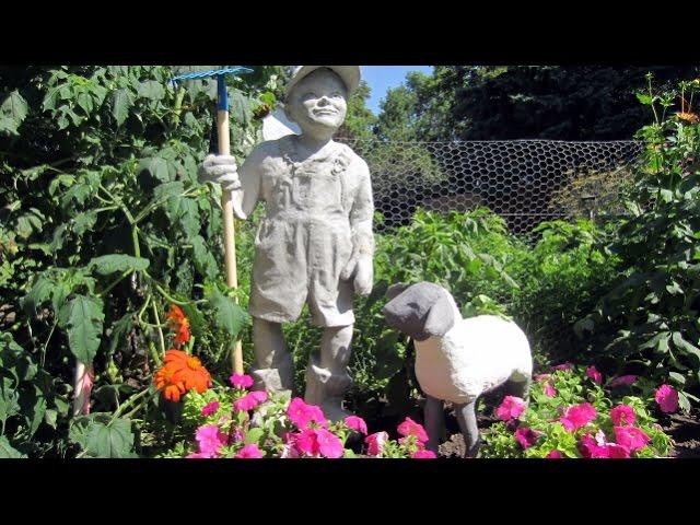 enjoyable home depot garden statues.  Make a Cement Lamb Sculpture Ultimate Paper Mache