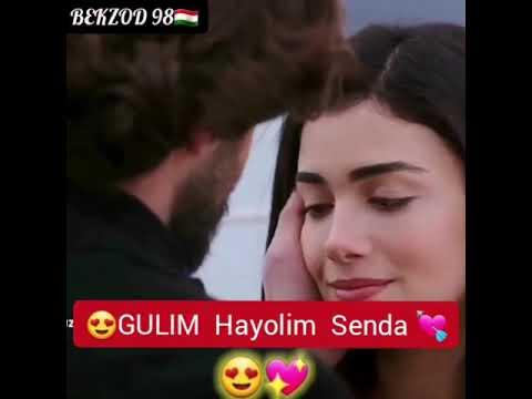 😘GULIM  Meni Hayolim senda 💘💝  #clip version # ПОДПИШИТЕСЬ на канал.