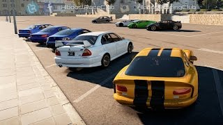 Forza Horizon 2 (XB1) | '99 TT Viper Build | Street Monster Meet w/ TT Lambos, Evos, E36 & More
