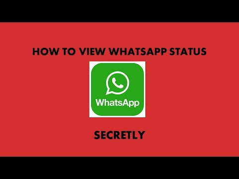 How To Check Whatsapp Status Without Letting Them Know