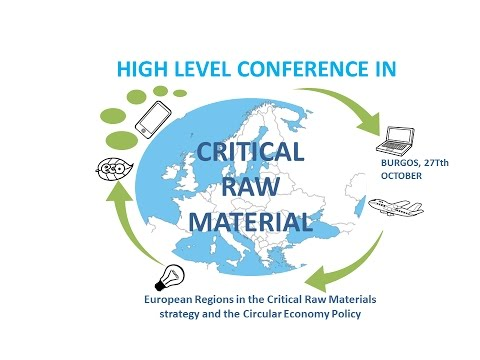 European Regions in the Critical Raw Materials strategy and the Circular Economy Policy.