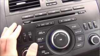 2012 Mazda 3 Bose Sound System Demo