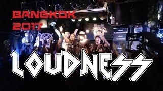 Loudness (Japan) Live in Bangkok 2017 10 November 2017 @ The Rock P...