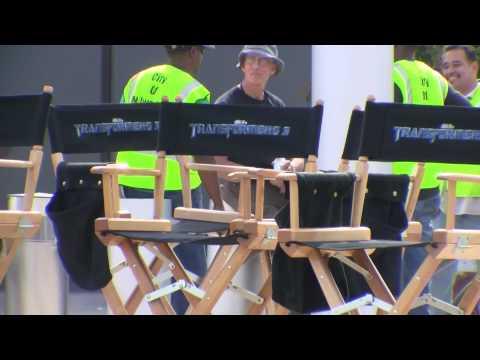 Transformers 3 Milwaukee - Film Set (pt 5)
