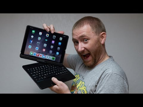 iPad Pro 7-Color Backlit F360 Keyboard by iEGrow Review