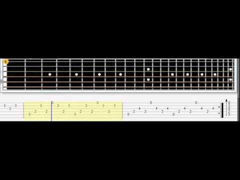 Limp bizkit. Behind blue eyes ТАБУЛАТУРА/TABS# tabs note guitar ...