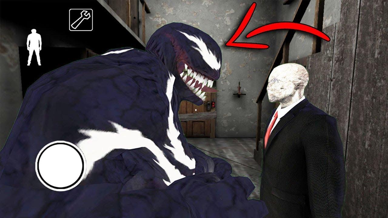 venom vs slenderman horror game multiplayer at 3 00 am scary